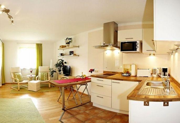 Küchenzeile der Ferienwohnung III im Haus Sonja