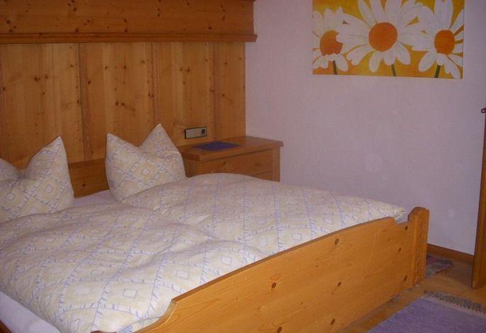 Schlafzimmerbeispiel im Gästehaus Vogel Walter