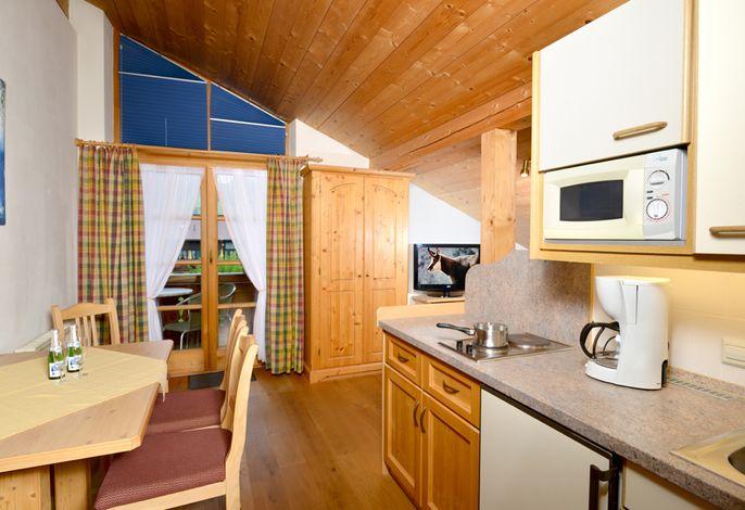 2-Raum-Dach-Wohnung 30m²