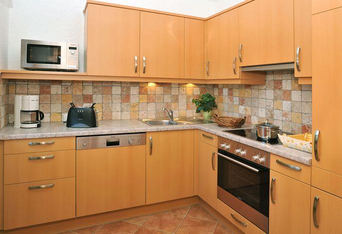 Küchenbeispiel im Ferienwohnhaus Bergstüberl