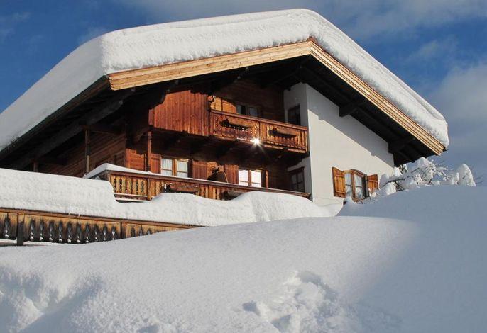Das Gästehaus Bergstüberl im Winter