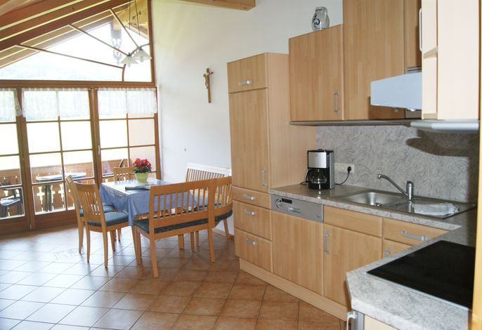 Küche mit Essplatz Zottnerhof