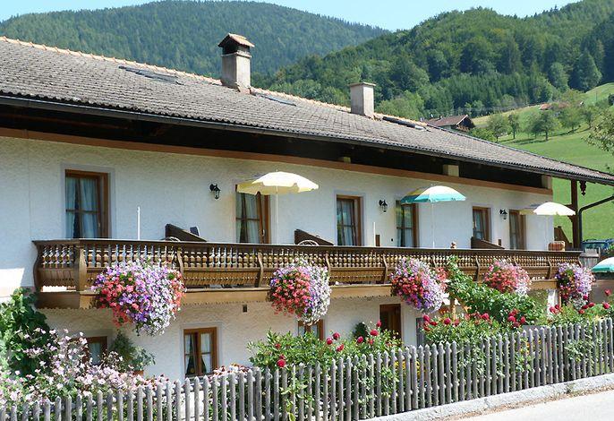 Balkone der Ferienwohnungen