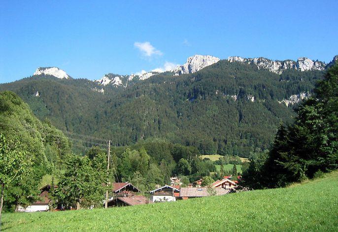 Panorama vom Haus aus