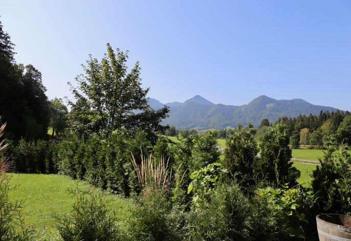 Südblick auf die Berge