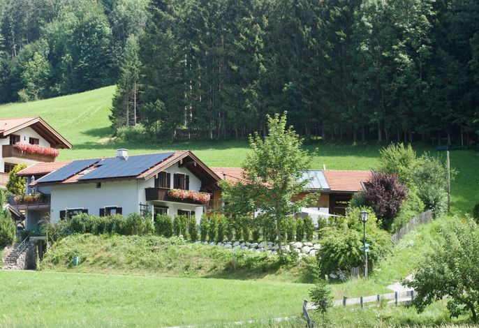 Hausbild mit beiden Ferienwohnungen
