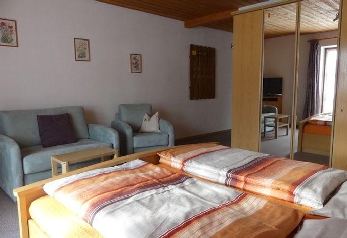 Ferienwohnung Streichen - Wohn-Schlafzimmer