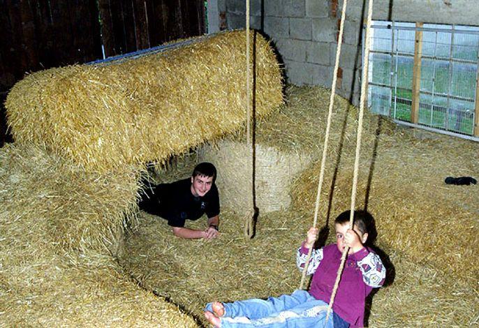 Unsere Hüpfburg - nicht nur für die Kleinen