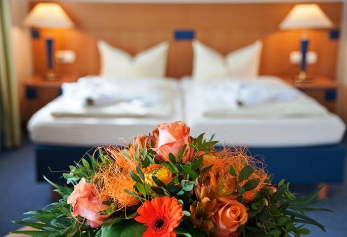 Beispiel Einzelzimmer Komfort, als Einbett- und Zweibettzimmerr