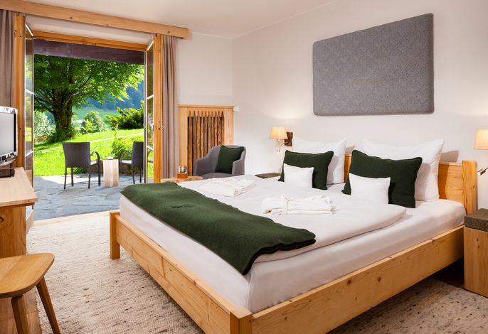 Alpenveilchen Wohn- und Schlafbereich
