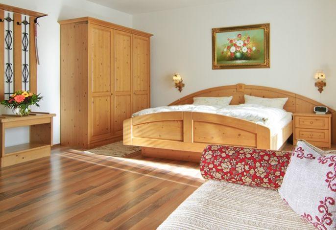 Schlafzimmer 50qm Wohnung (Wohnung 2)