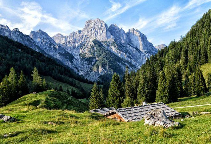 Die Bindalm, unsere Alm im Nationalpark Berchtesgaden