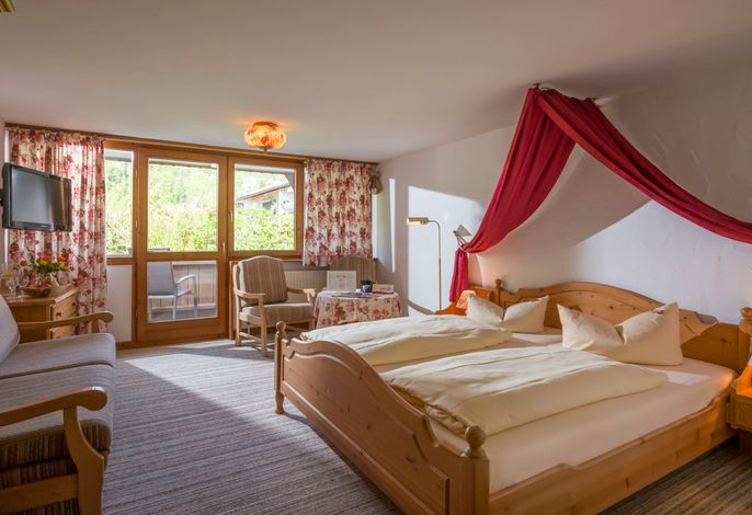 Wohlfühlzimmer mit Balkon