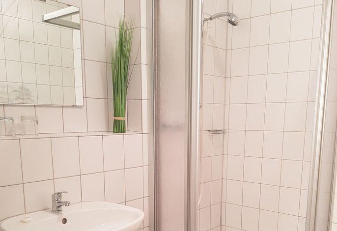 Ferienwohnungen Stecher Bad Endorf Wohnung 5 - Bad mit Dusche