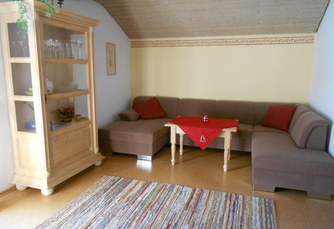 Wohnzimmer der Wohnung