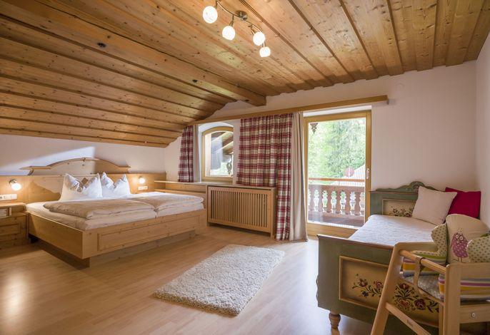 weiteres Schlafzimmer im großen Apartement