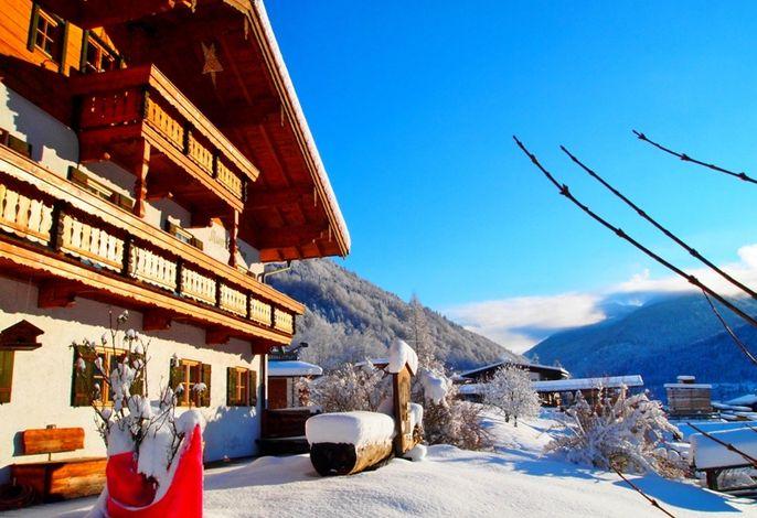 Mayringerlehen im Winter