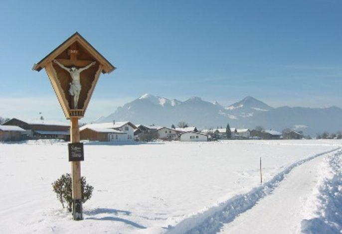 Winterwelt in Staudach