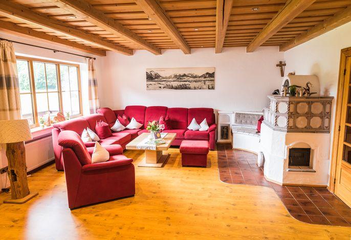 Wohnzimmer zum entspannen und wohlfühlen