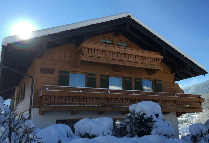 Das Haus Aigner im Winter