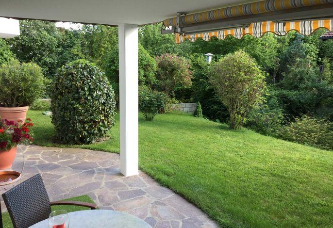 Terrasse mit Markiese