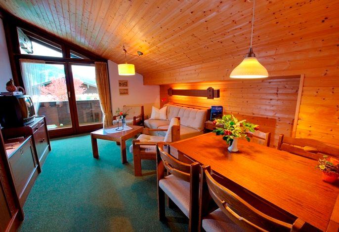Wohnbereich Ferienwohnung Hochkalterblick Nr.5