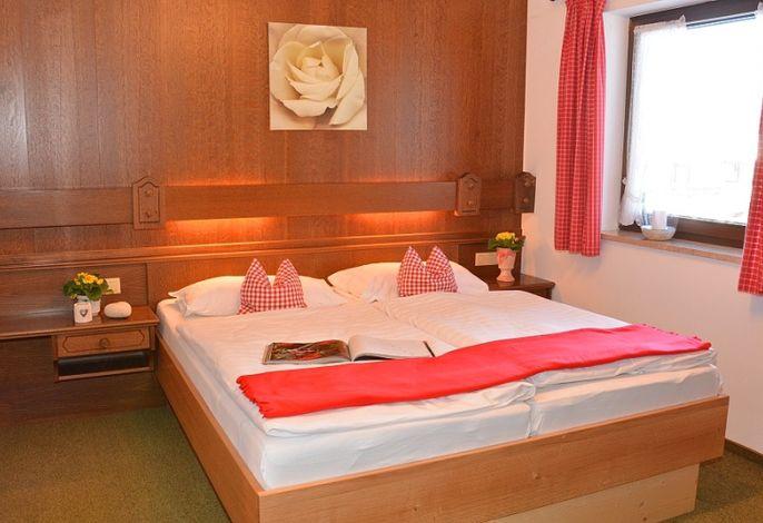 Schlafzimmer Fereinwohnung Grünsteinblick Nr.4