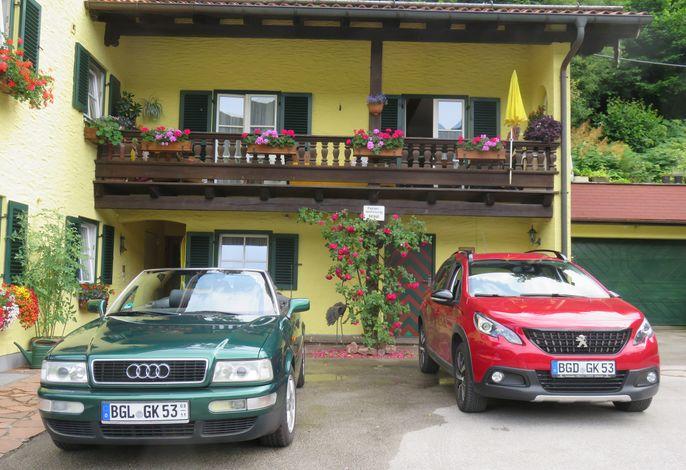 Parkplatz vor Ihrer Ferienwohnung