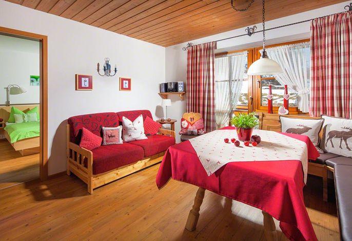 Alpengruss Wohnraum