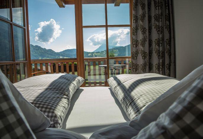 Schlafzimmer mit sun-up-bed
