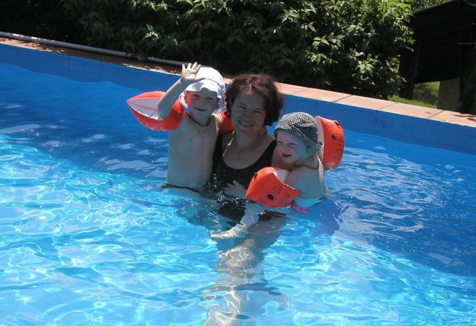 Spaß im Pool für die ganze Familie