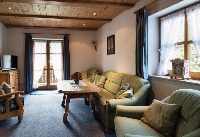 Das Wohnzimmer im Freidinglehen Aschauer