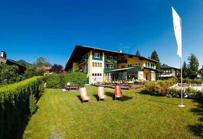 Gepflegtes Haus in zentrumsnaher Lage mit viel Grün