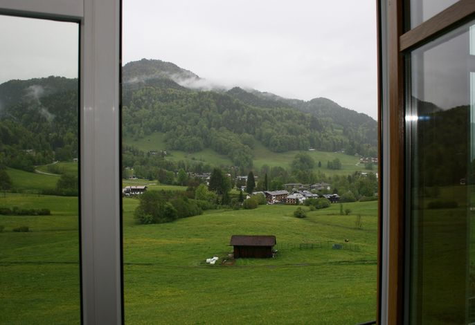 Ferienwohnung-Ausblick. Kneifelspitze