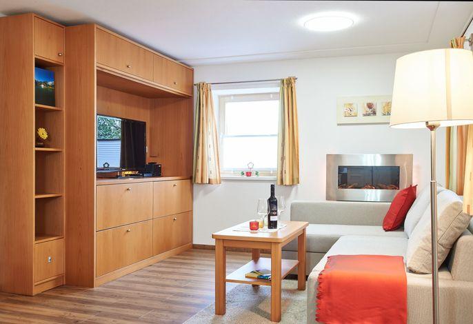 Ferienwohung Untersbergblick Wohnzimmerbereich