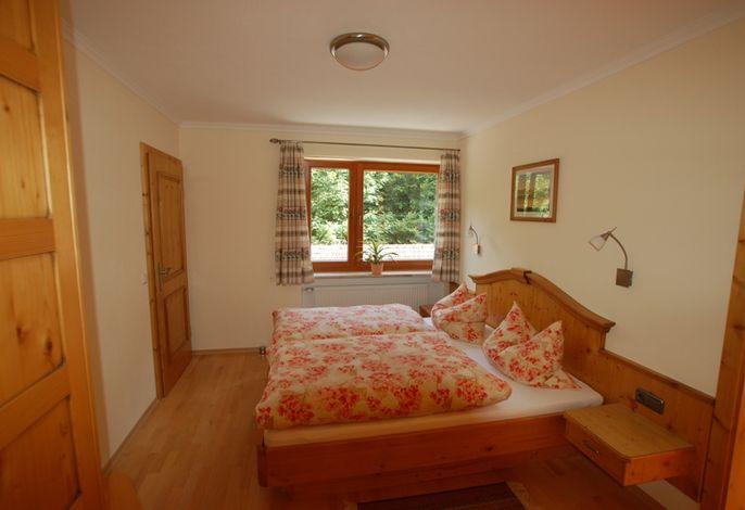 Schlafzimmer unserer Ferienwohnung Sophia
