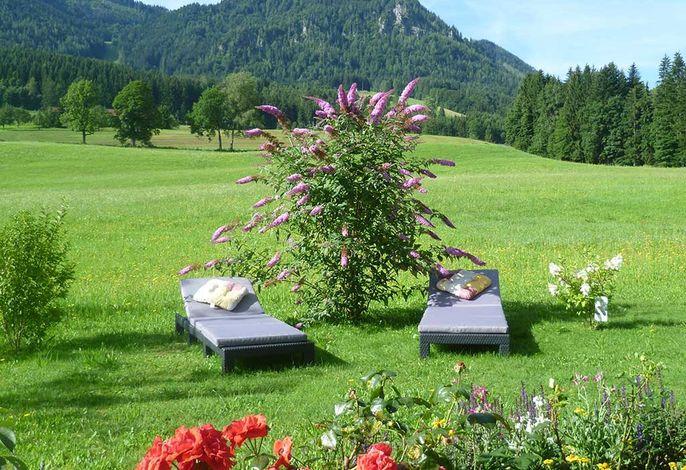 Entspannen inmitten der Ruhpoldinger Natur