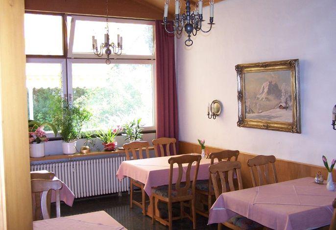 Kleiner Frühstücksraum