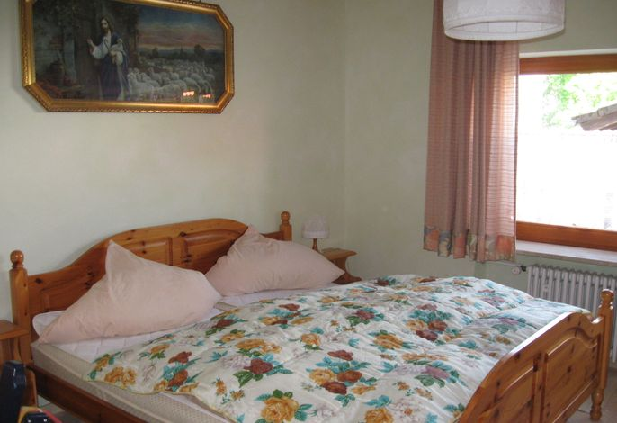 Schlafzimmer Ferienwohnung Reitberger