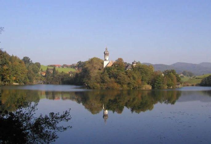 Zum Badesee und Kloster Höglwörth nur 5 Gehminuten