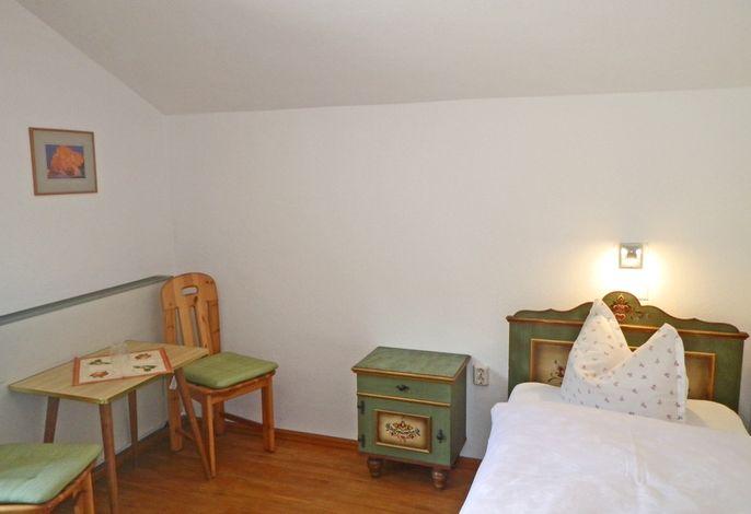 Einzelzimmer mit Westbalkon