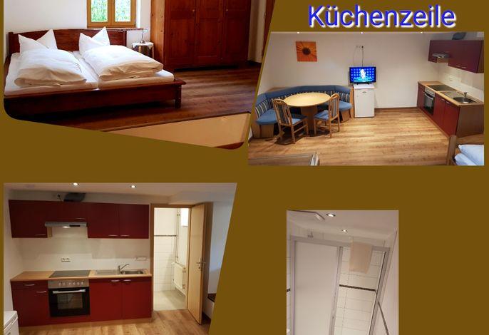 Doppelzimmer mit Küchenzeile