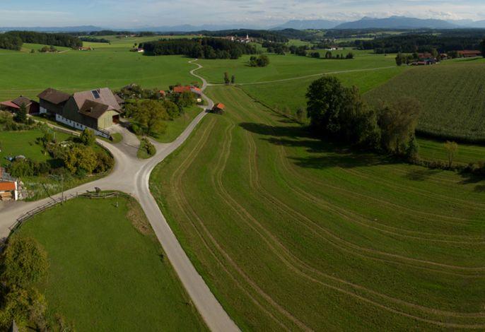 Luftaufnahme Lapperhof und Umgebung
