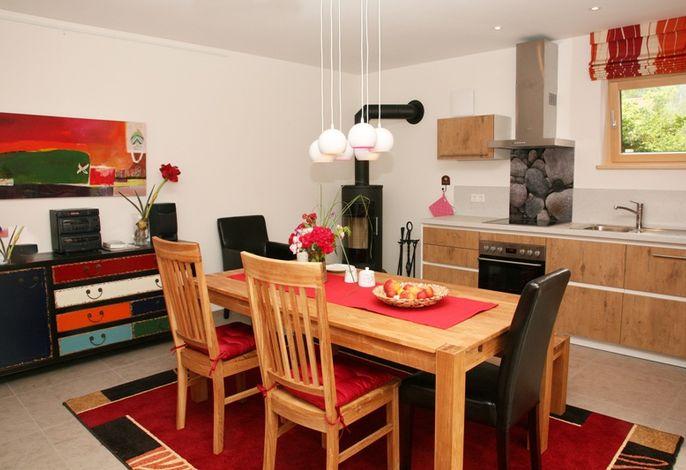 unsere komfortable Küche