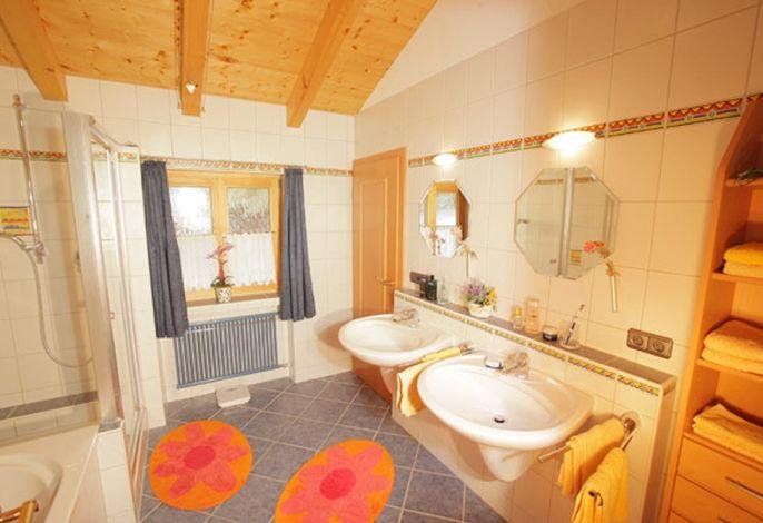 Badezimmer der exklusiven 5-Sterne-Wohnung