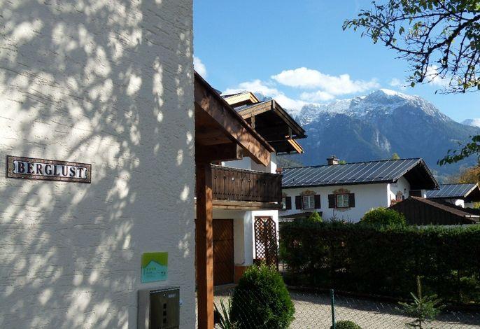 Blick auf die Berchtesgadener Berge