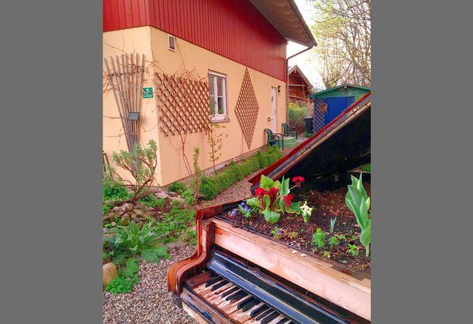 Eingangsbereich mit Piano