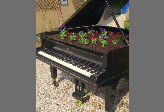 Bepflanztes Piano