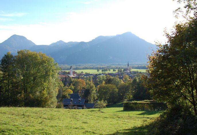 Blick auf Nußdorf