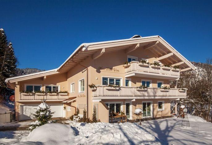 das Haus Bella Vista im Winter